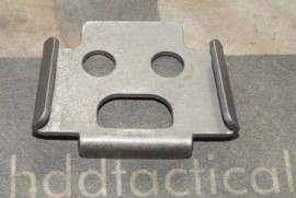 WELDMENT, FEED BOX RETAINER