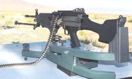 BELT FED MACHINE GUNS & RIFLES