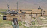 FN40GL Launcher, Scar.
