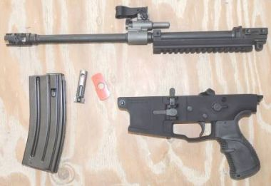 SCAR 17s 556 CONVERSION KIT, SOAR-H556, BLK