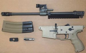 SCAR 17s 556 CONVERSION KIT, SOAR-H556, FDE