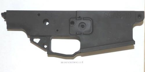 HDD SOAR-10 ALUMINUM SCAR 17S LOWER, BLACK