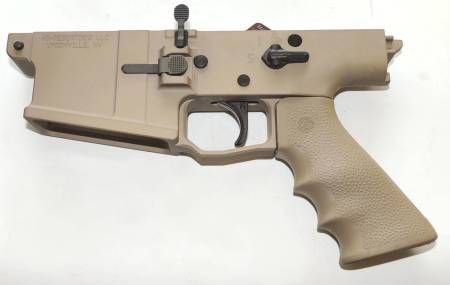 511A. HDD SOAR-10 ALUMINUM SCAR 17S COMPLETE LOWER FDE