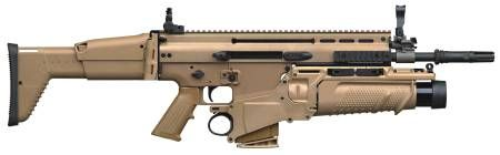 SCAR 16/17 POST SAMPLE MACHINE GUNS