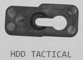444 SCAR ACTION GUIDE ROD RETAINING PLATE