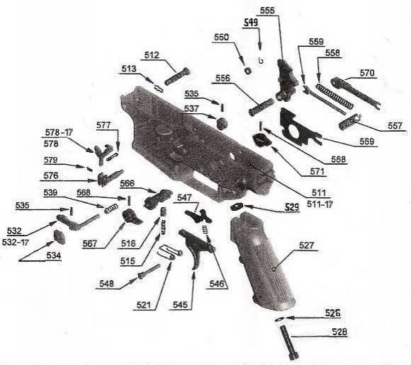 SCAR LOWER RECEIVER GROUP