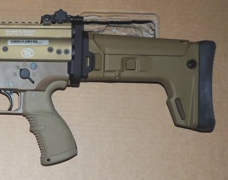 KDG SAS STOCK KIT, BROWN, SCAR 16 & 17