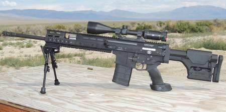 SCAR 17 SASR - Hi-desertdog LLC HDD Tactical